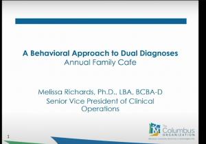 Title slide from presentation